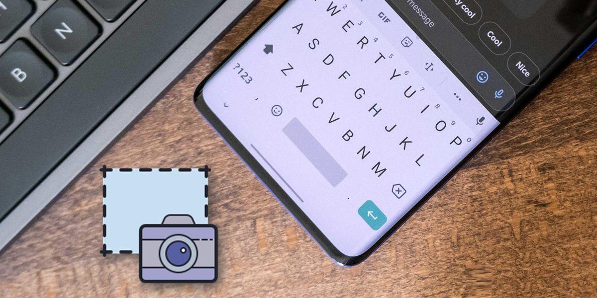 guardar capturas de pantalla gboard teclado google