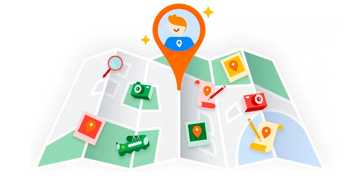guías locales en google maps