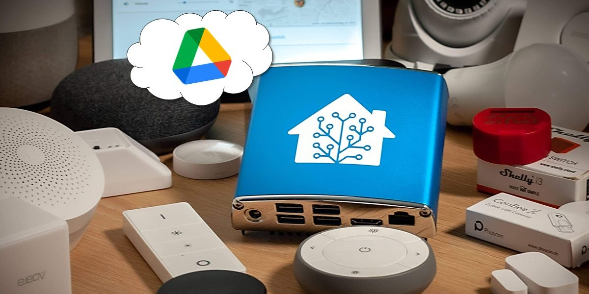 hacer backup de home assistant en google drive