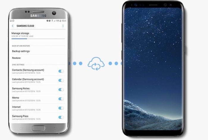 hacer copia de seguridad con Samsung Smart Switch