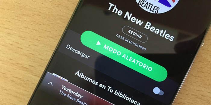 hacer que Spotify consuma menos datos