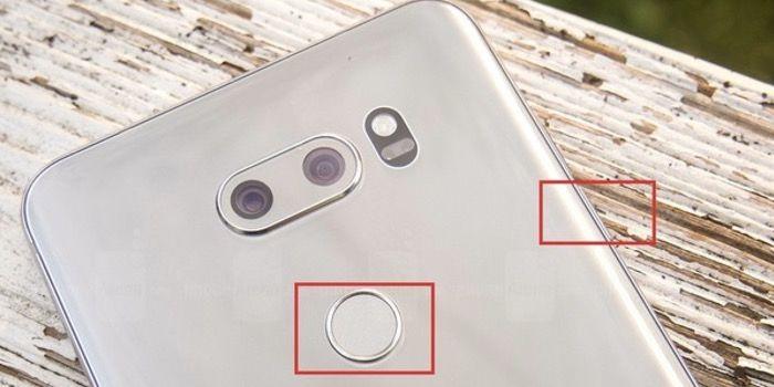 hacer una captura de pantalla en LG V30