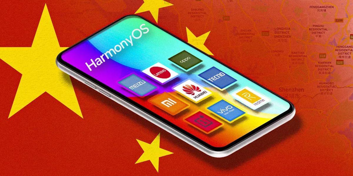 harmony os en moviles de otras marcas chinas
