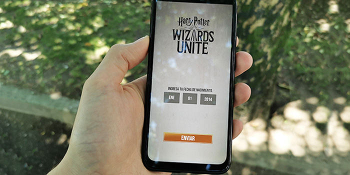 harry potter wizards unite ubicacion falsa