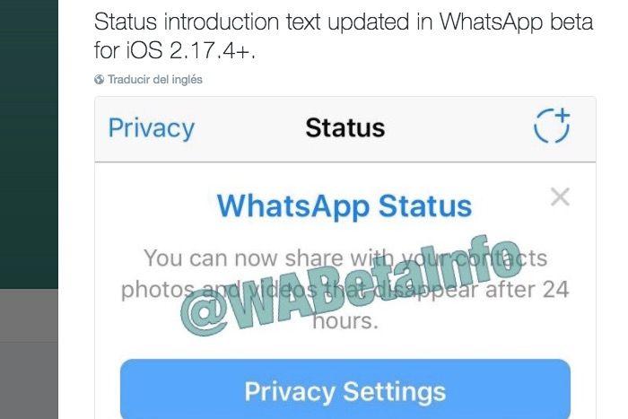 historias de whatsapp