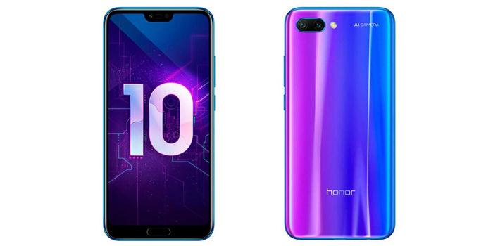 honor 10 diseño
