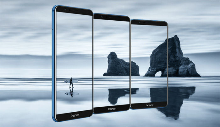 Honor 7X pantalla