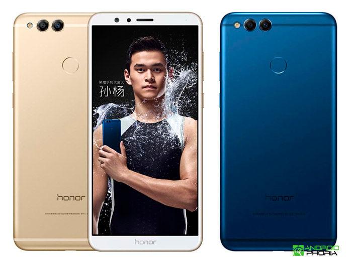 Honor 7X precio