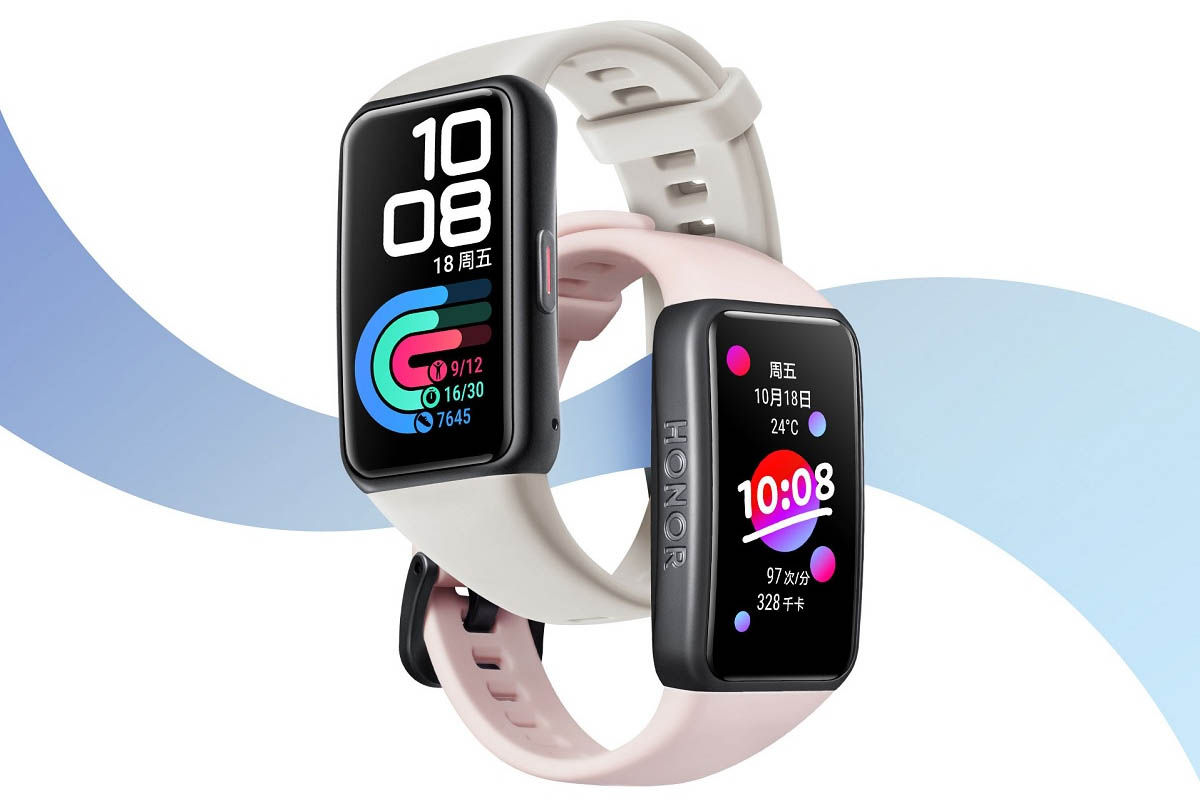 honor band 6 diseño