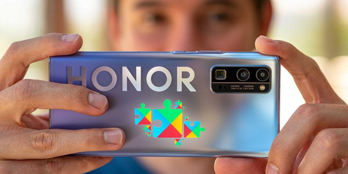 honor lanzará móviles con servicios google