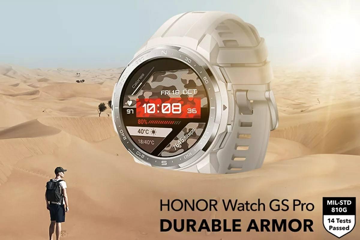 honor watch gs pro rugerizado
