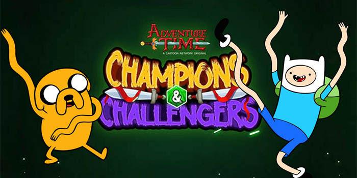 hora de aventuras campeones y retadores