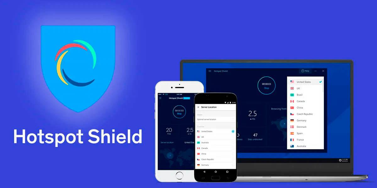 hotspot shield, la vpn gratis más popular del mundo