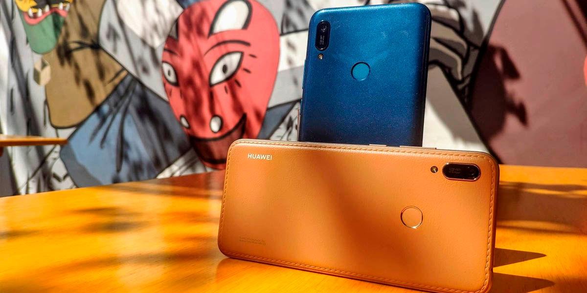 huawei Y6 2019 con aplicaciones de Google, gama baja al menor precio Amazon
