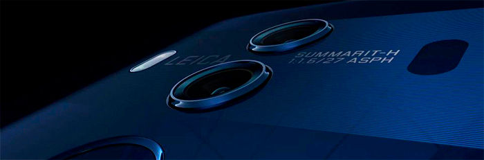 Huawei Mate 10 azul cámara dual Leica