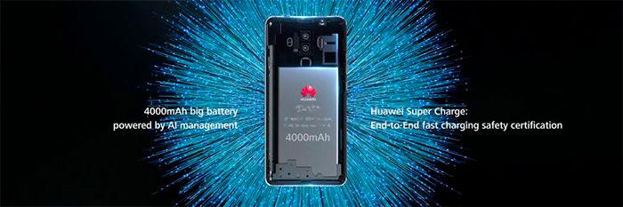 Huawei Mate 10 batería carga rápida