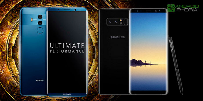Huawei Mate 10 Pro vs Samsung Galaxy Note8