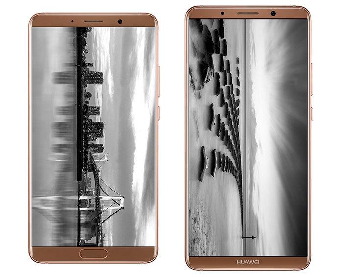 Huawei Mate 10 y Mate 10 Pro pantallas