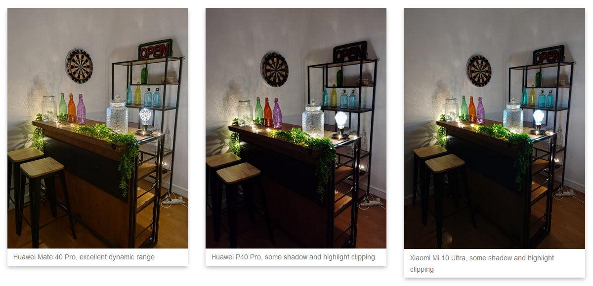 huawei mate 40 pro fotos con poca luz