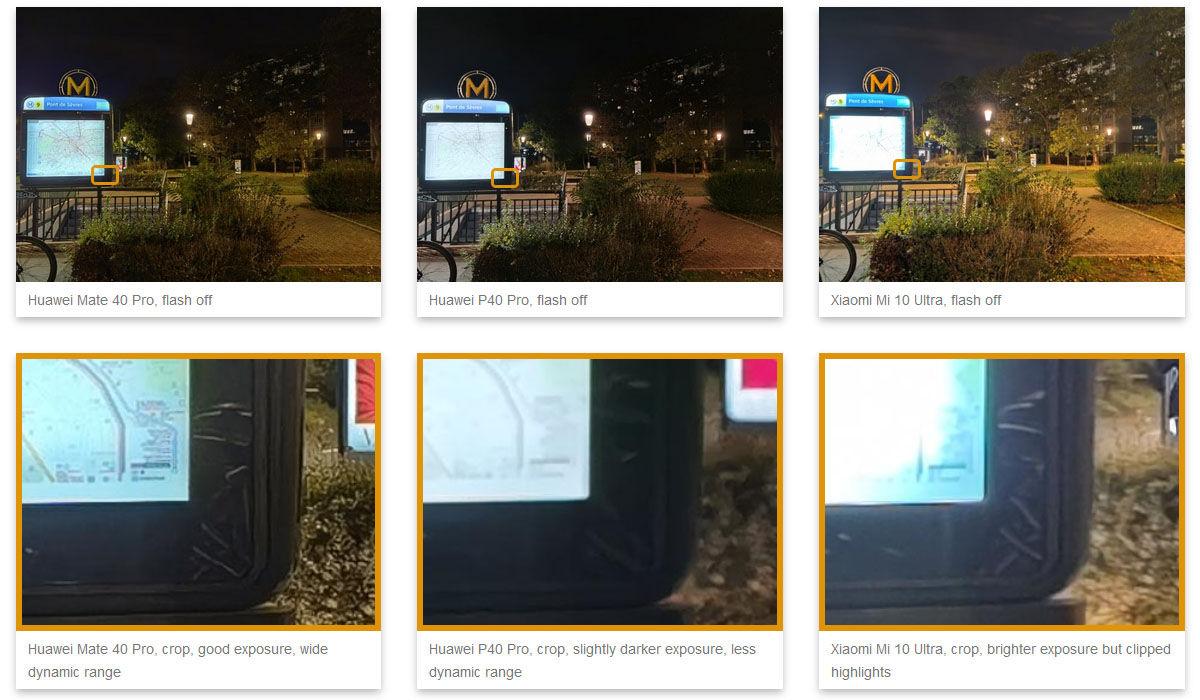 huawei mate 40 pro fotos nocturnas
