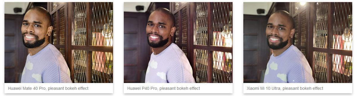 huawei mate 40 pro prueba retratos