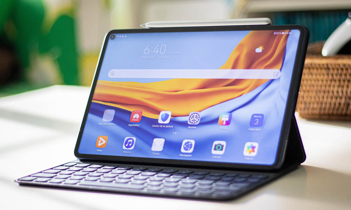 huawei matepad pro mejor tablet android trabajo