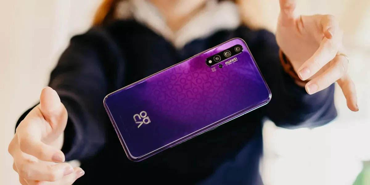 huawei nova 5t móvil android compacto económico