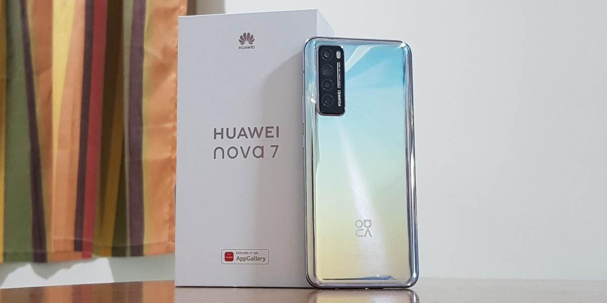 huawei nova 7 gama media android potente febrero 2021