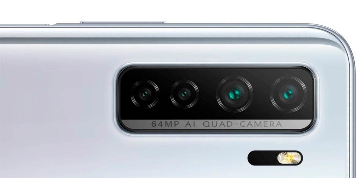 huawei p40 lite 5g cámara