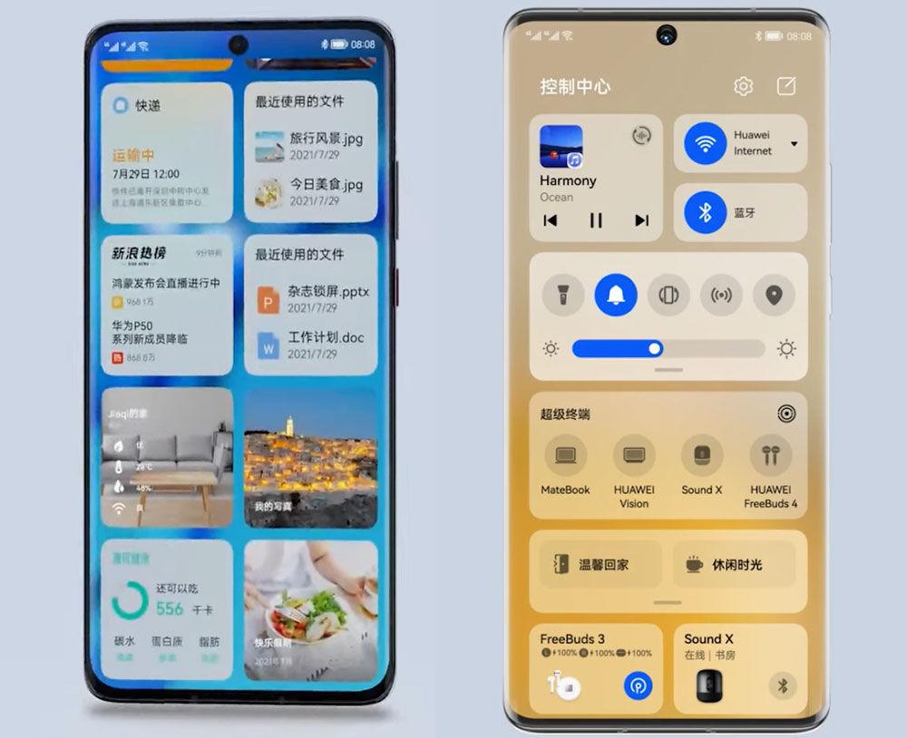 Huawei P50 y P50 Pro Harmony OS
