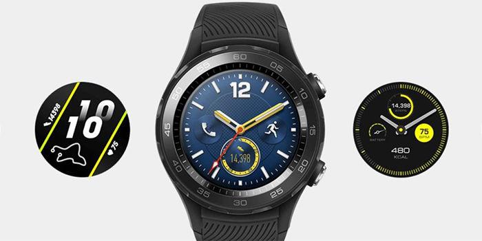 huawei watch 2 2018 diseño