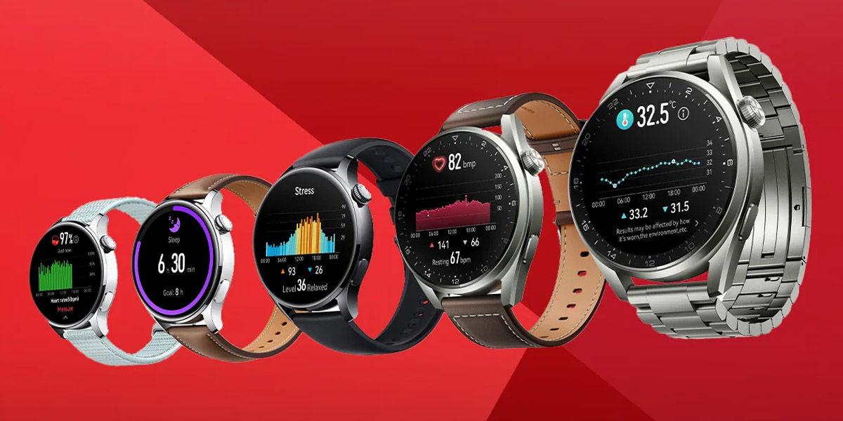 huawei watch 3 y 3 pro diseño