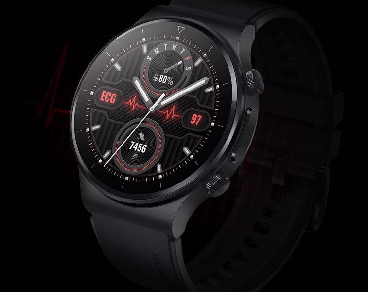 Huawei Watch GT 2 Pro diseño