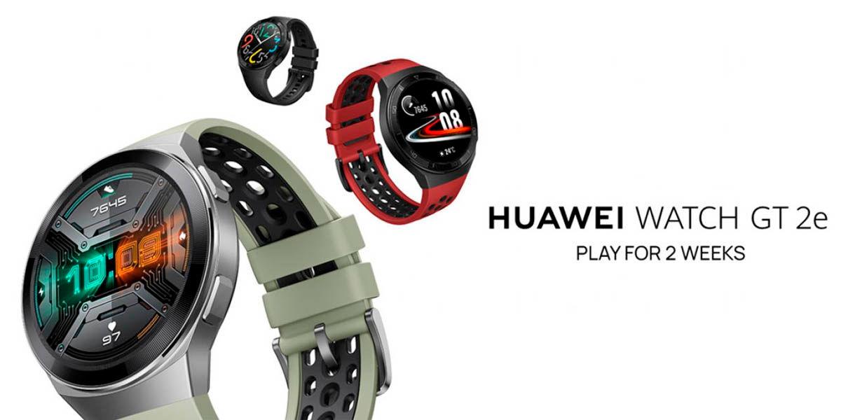 huawei watch gt2e especificaciones