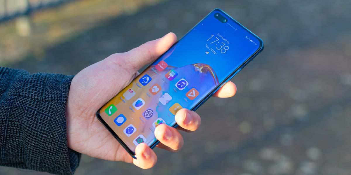 Uso del teléfono Huawei P40 Pro