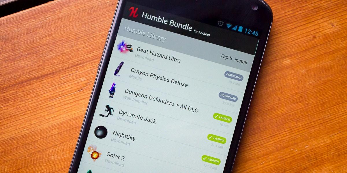 humble bundle app