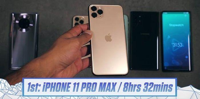 iPhone 11 pro max mejor bateria