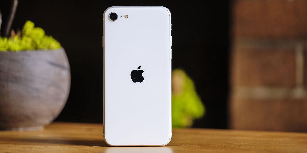 iPhone SE 2020 parte trasera