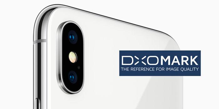 iPhone X camara DxOMark