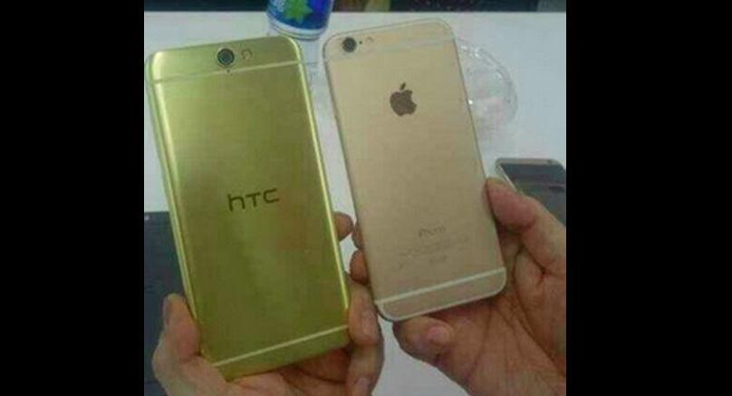 imagenes reales htc aero a9 clon iphone