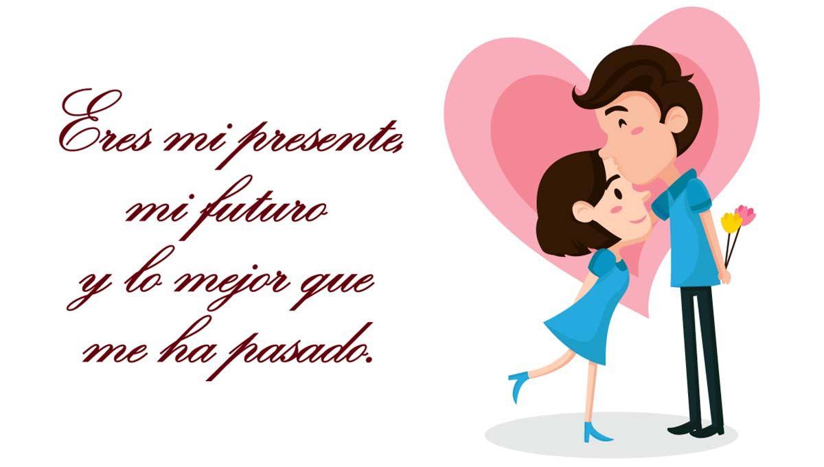 imagenes romanticas con frases para felicitar en san valentin