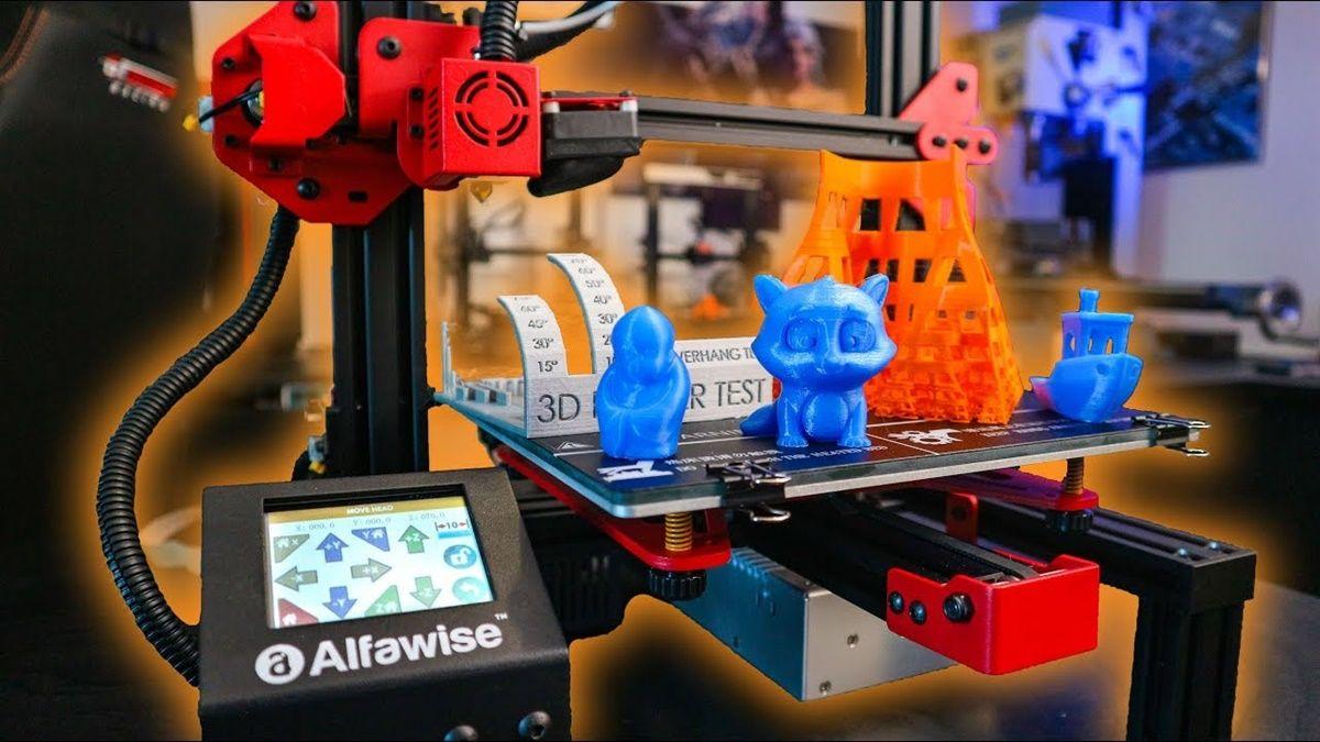 impresor 3d alfawise u30