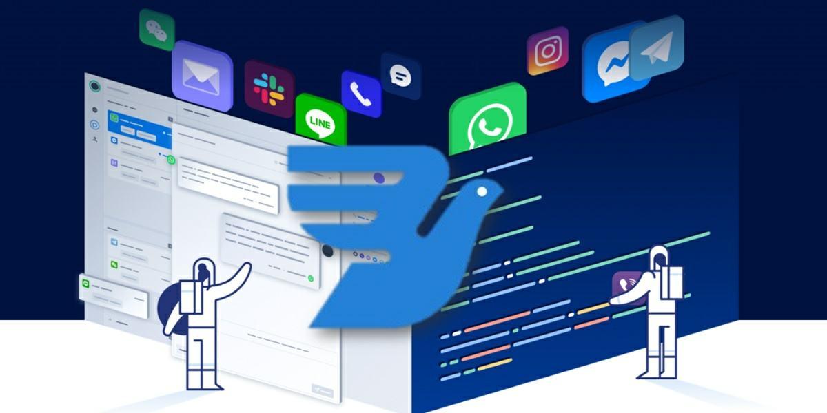 inbox aplicacion para recibir mensajes de todos los clientes en un mismo lugar
