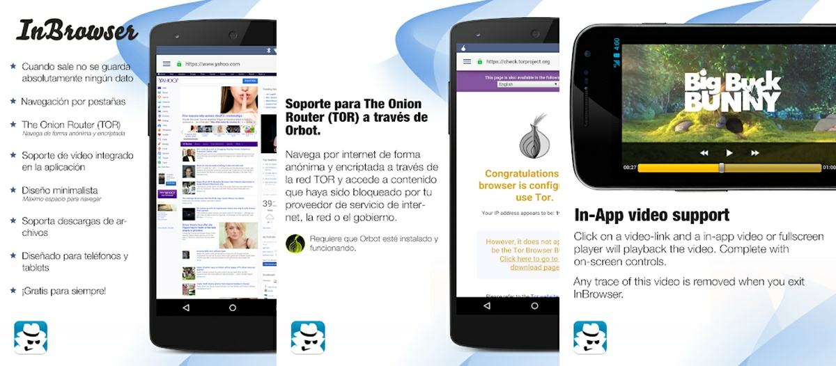 inbrowser navegador android