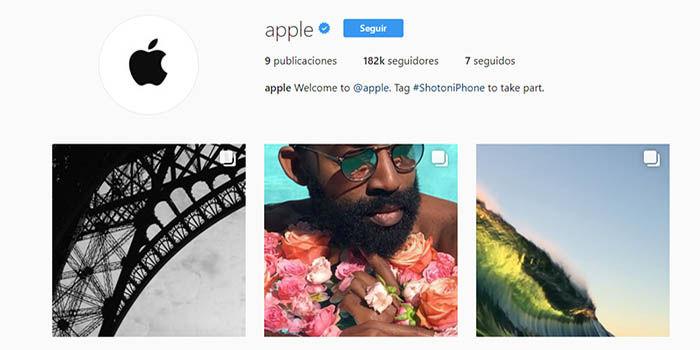 instagram de apple