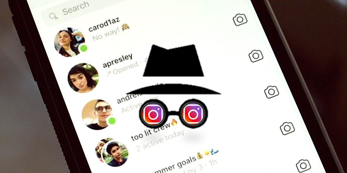 instagram modo incognito