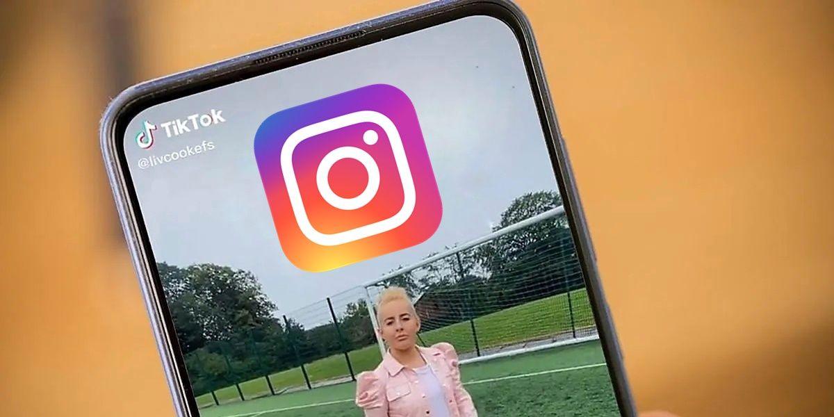 instagram no promevera los videos de tiktok en reels