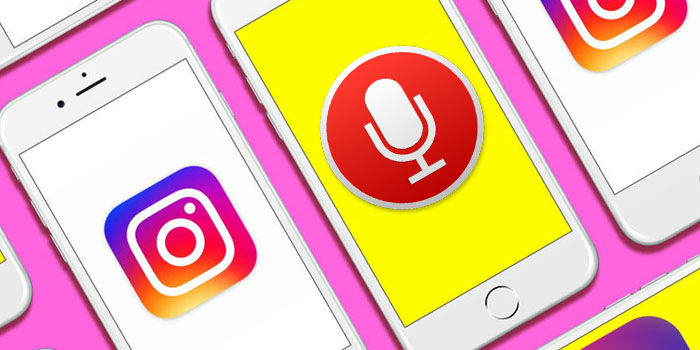 instagram notas de voz usar