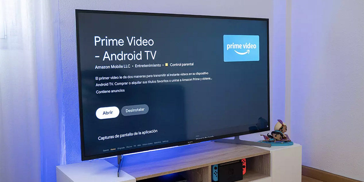 instalar amazon prime video en cualquier TV Box