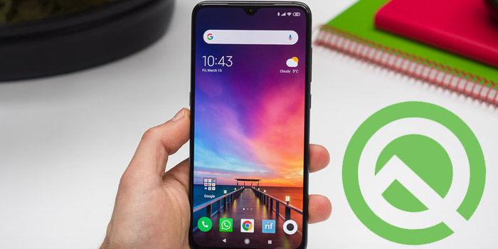 instalar android q beta xiaomi mi 9